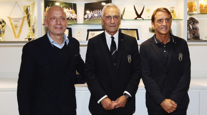 L'Italia di Mancini e Vialli