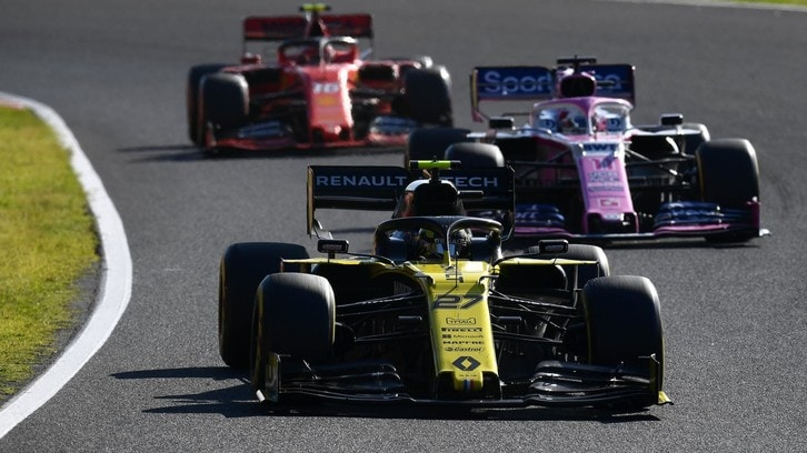 Renault e la ripartizione di frenata contestata dalla Racing Point