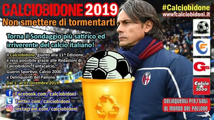 Tornano i flop del calcio: vota il Calciobidone 2019!