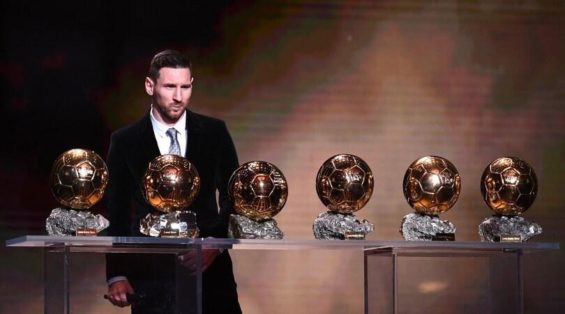 Messi, sesto Pallone d'Oro con vista sul settimo
