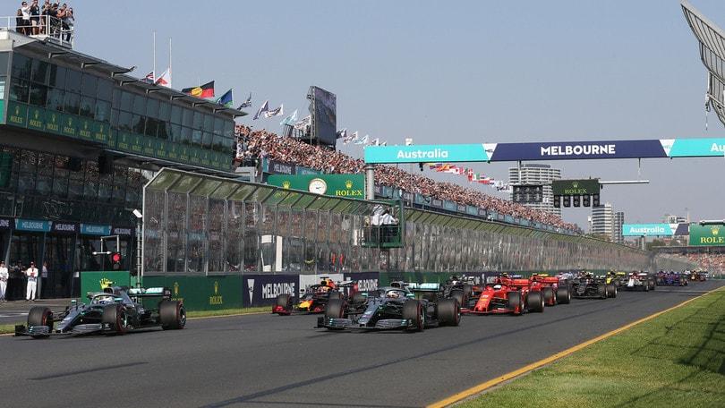 La Formula 1 e l'asta benefica per l'Australia