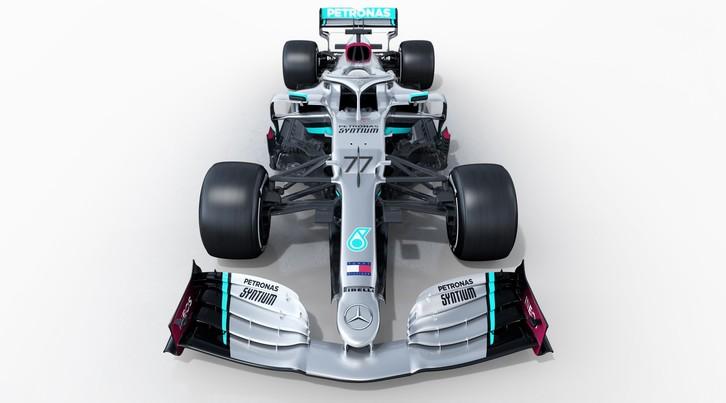 Monoposto F1 2020: Mercedes W11