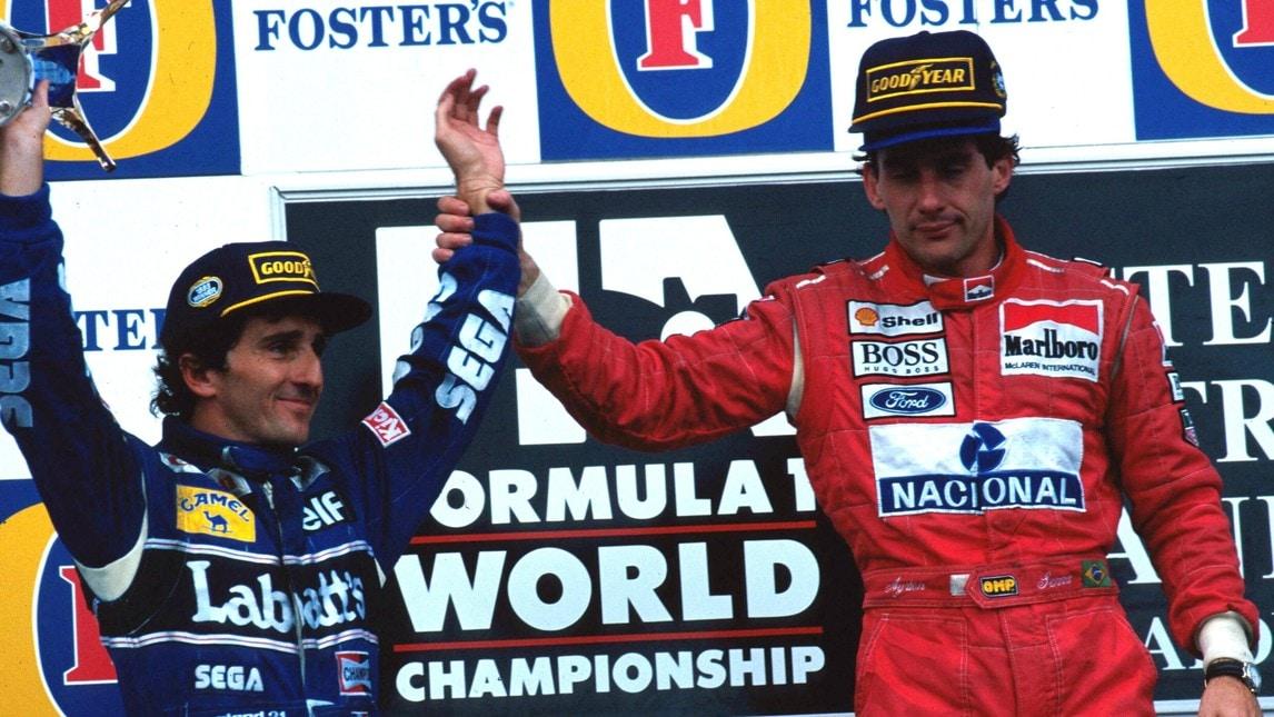 Senna-Prost, rivali con stima