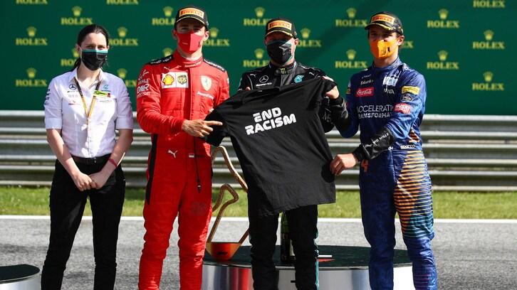 F1 Austria: Bottas primo, Leclerc e Norris sul podio