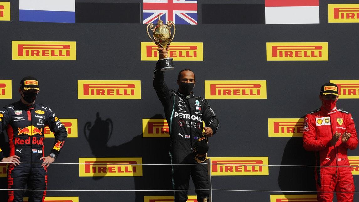 Leclerc e il miracoloso podio di Silverstone