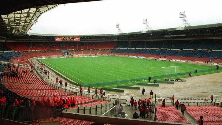 L'ultima partita nel vecchio Wembley