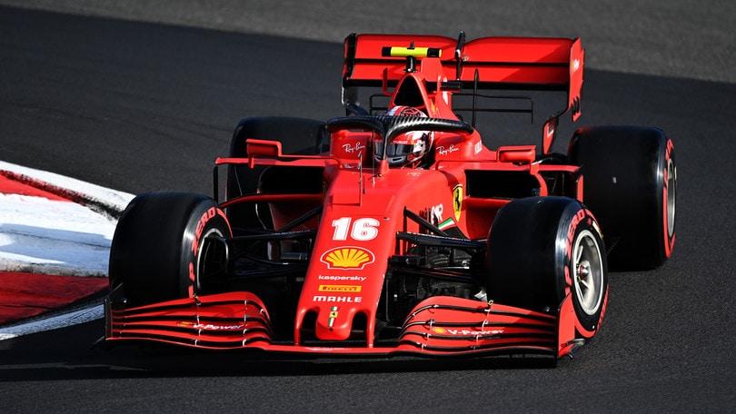 F1 Eifel, Leclerc e un'inattesa seconda fila