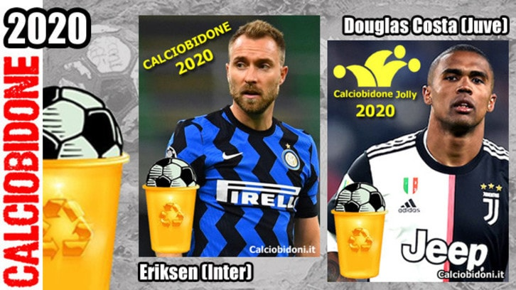 L'equivoco Eriksen sugli scudi: è lui il 'Calciobidone' 2020