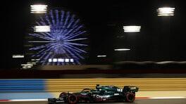 GP Bahrain, Aston Martin penalizzata dall'assetto a basso rake