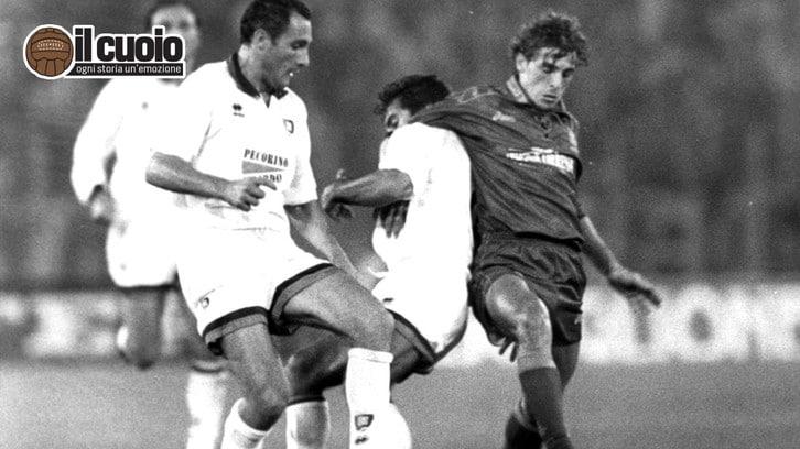 Francesco Moriero: «Da Cagliari a Roma un calcio di emozioni»