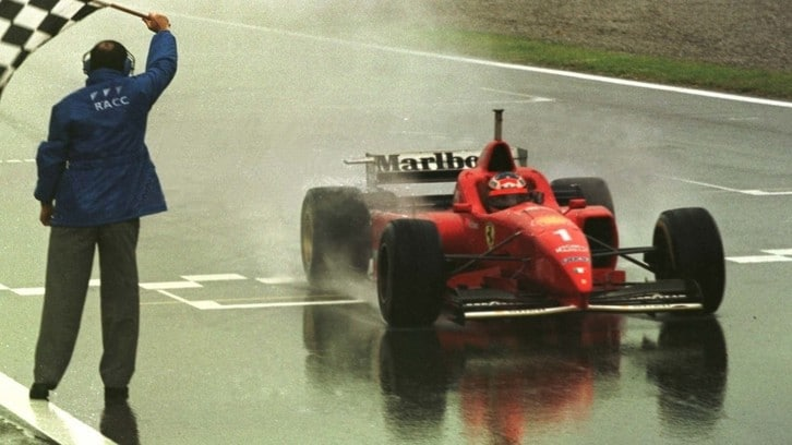 F1, Schumacher e la prima vittoria in Ferrari