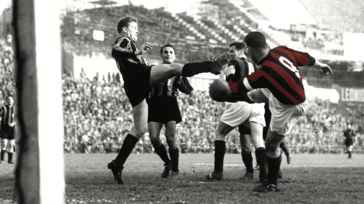 Nordahl, il 3 giugno 1956 il suo ultimo gol con il Milan