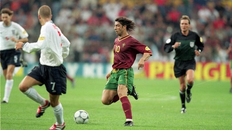 Portogallo-Inghilterra Euro 2000, remuntada con Rui Costa e Figo al top