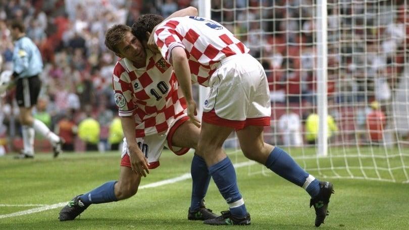 Croazia, in Inghilterra nel 1996 la prima partecipazione all'Europeo