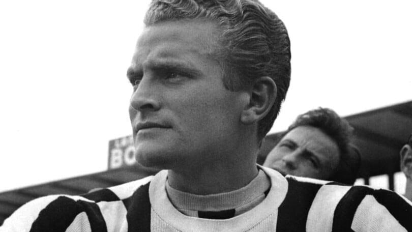 Il calciatore Boniperti