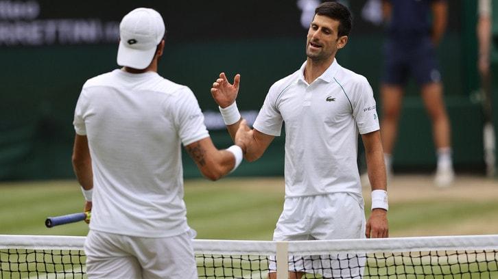 Il presente di Djokovic, il futuro di Berrettini