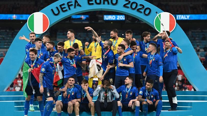 Italia campione d'Europa in tre anni