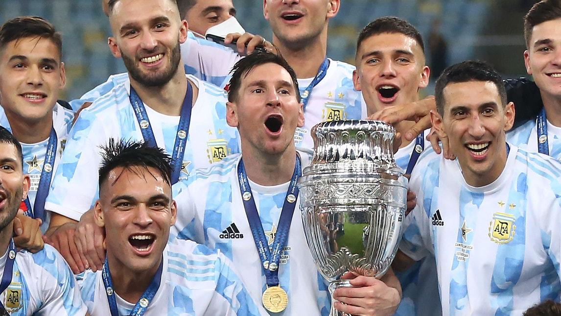 La Coppa America del vincente Messi