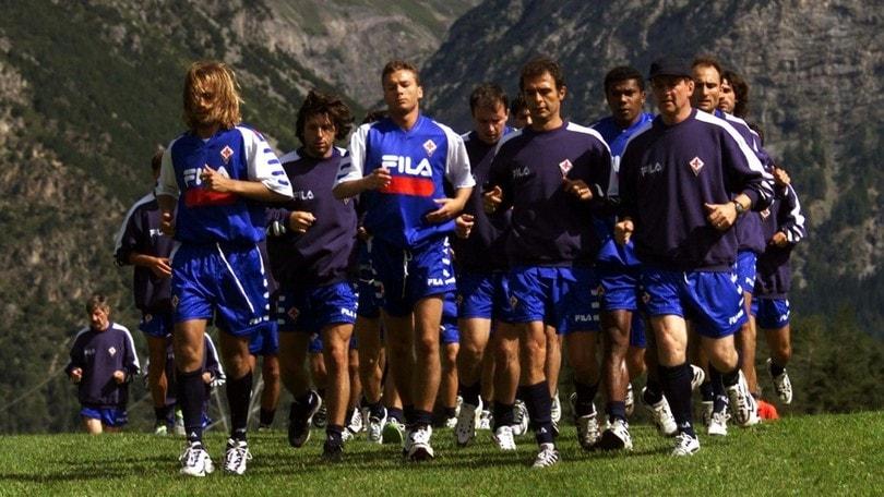 Elicotteri, Batistuta e Trapattoni: i ritiri della Fiorentina nei '90