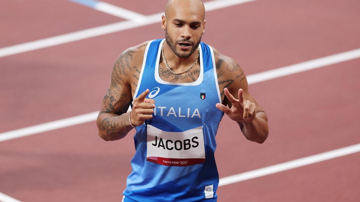 Tokyo 2020, il record di Jacobs