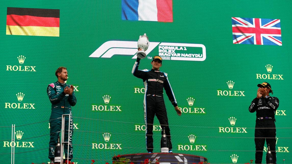 F1 Ungheria: vince Ocon, Vettel secondo sub iudice