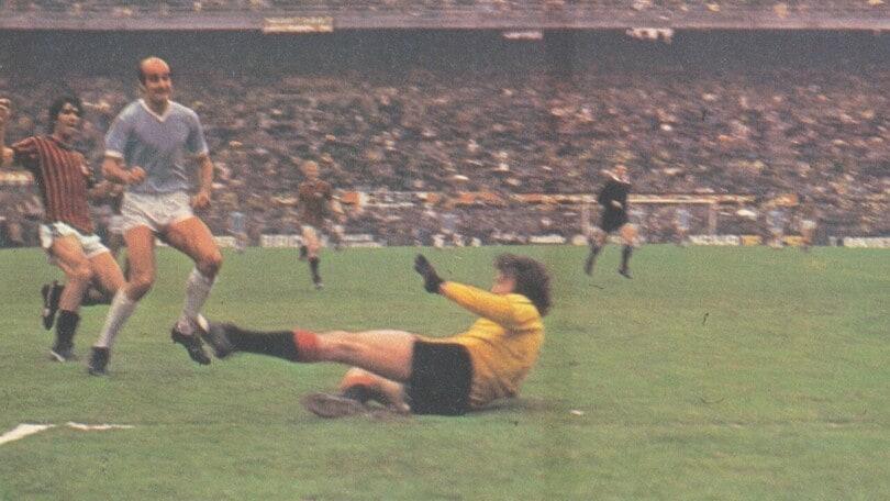 Milan-Lazio 1978: Martini in gol e biancocelesti salvi
