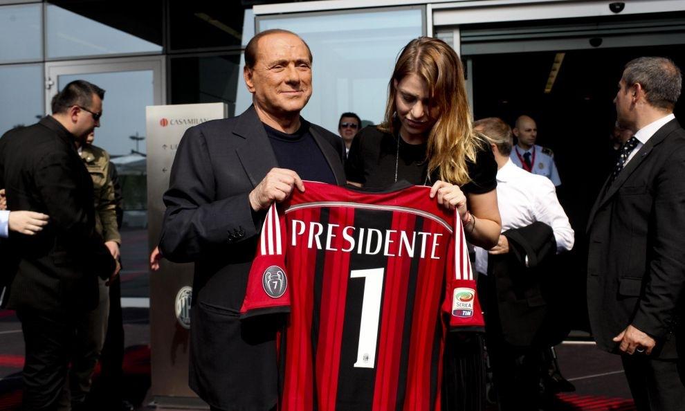 Berlusconi ai saluti