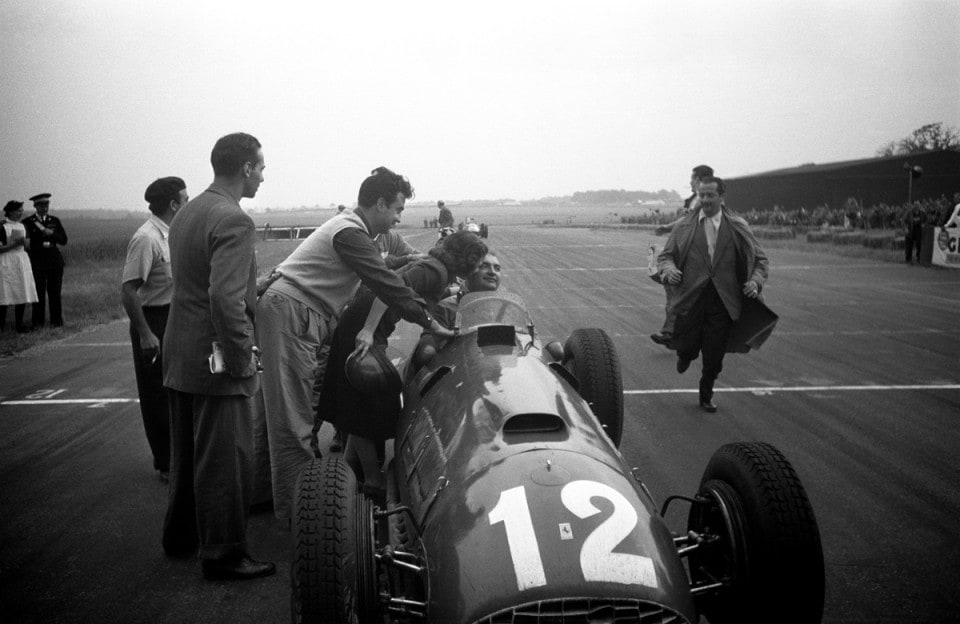 La prima vittoria Ferrari