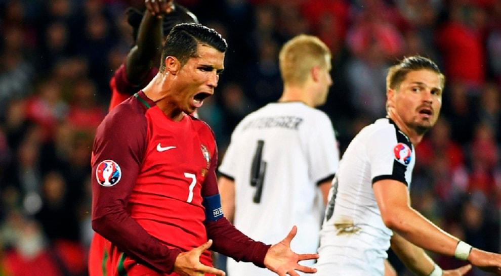 Euro 2016, Portogallo-Austria 0-0