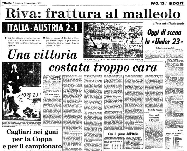 Gigi Riva, Brera e il boia del Prater