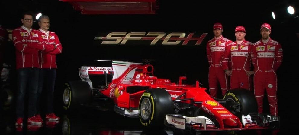 Monoposto F1 2017: Ferrari SF70-H