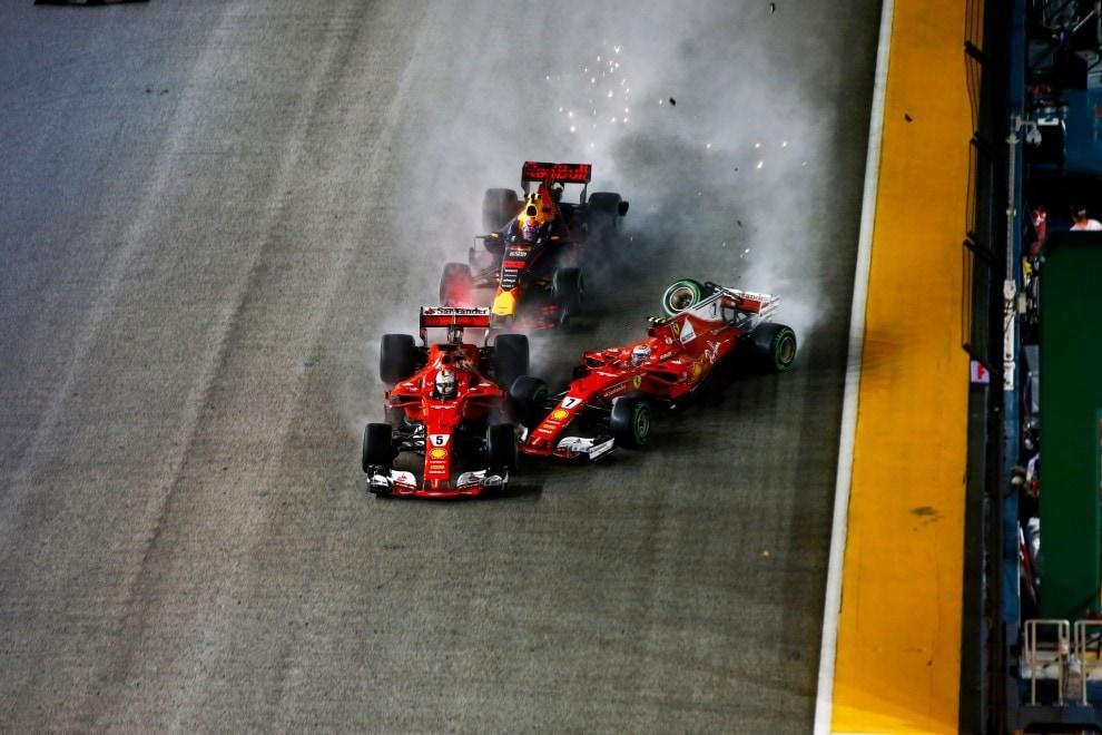 F1, disastro Ferrari a Singapore