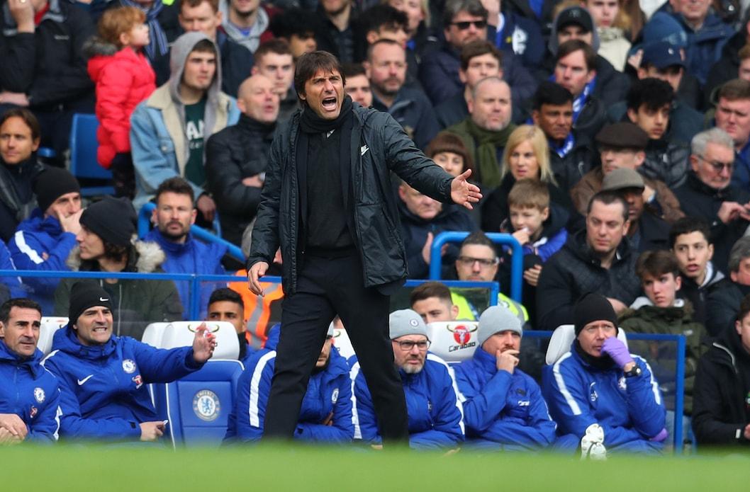 Conte e gli allenatori da Chelsea