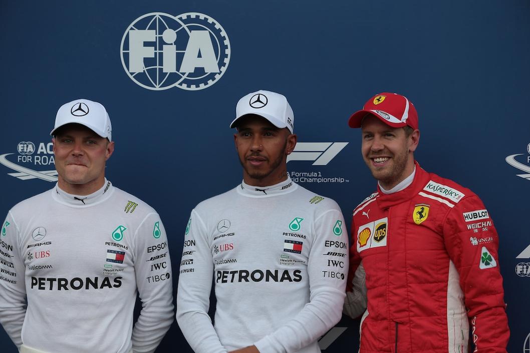 F1, Qualifiche Francia: Hamilton in pole, Vettel terzo
