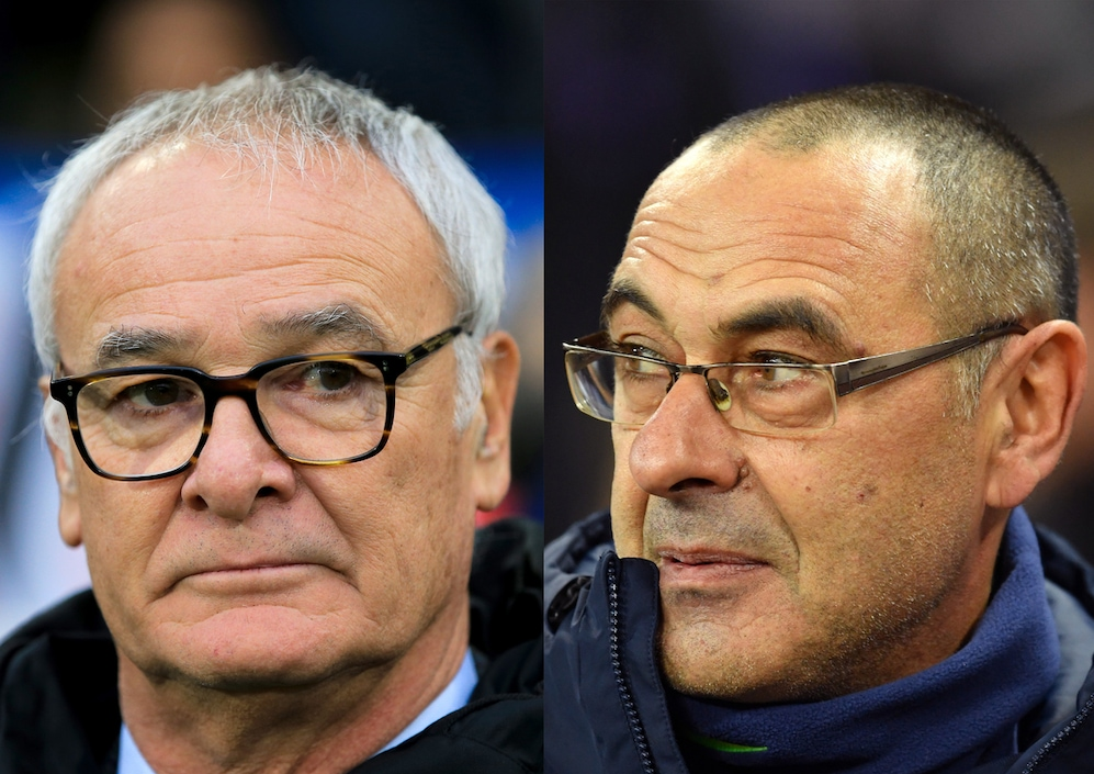 Sarri vs Ranieri: quando Stamford Bridge parla italiano