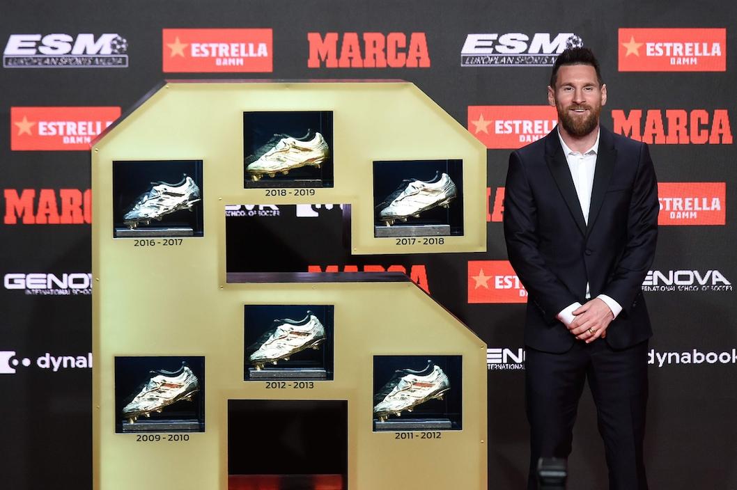 La Scarpa d'Oro da Camataru a Messi