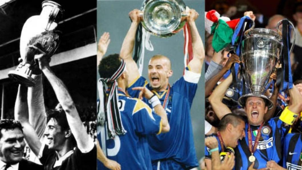 Milan, Juve e Inter: i trionfi del 22 maggio in Champions League