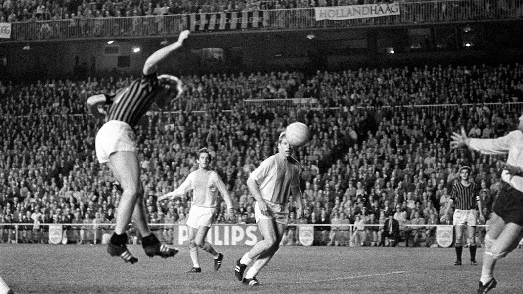 Milan-Ajax 1969, la storica tripletta di Prati in Coppa Campioni