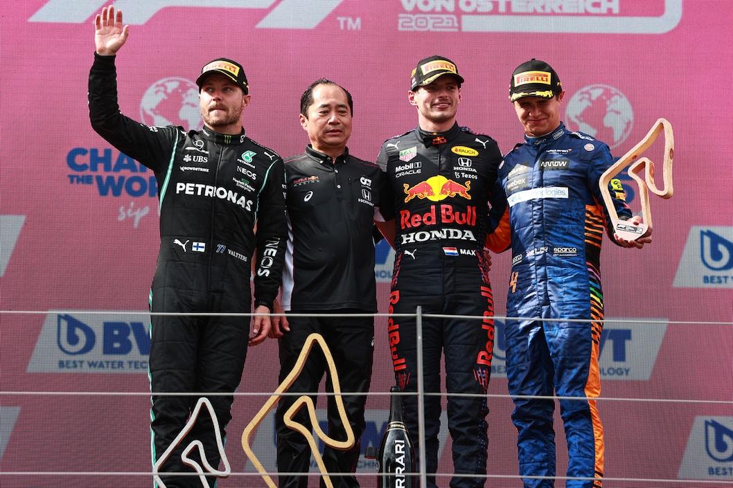 Verstappen e il cinquantesimo podio in Formula 1