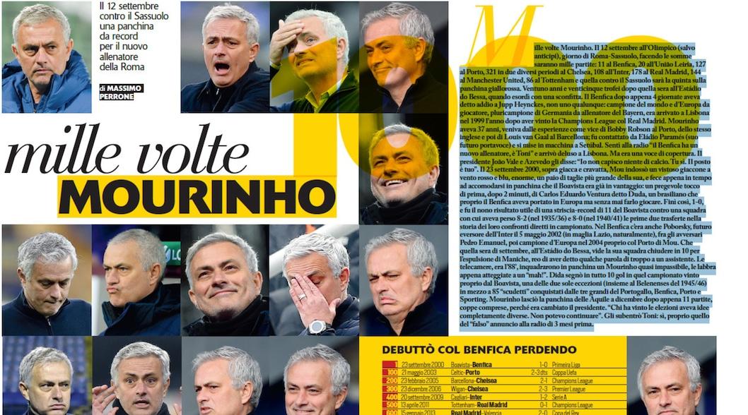 Mille volte Mourinho