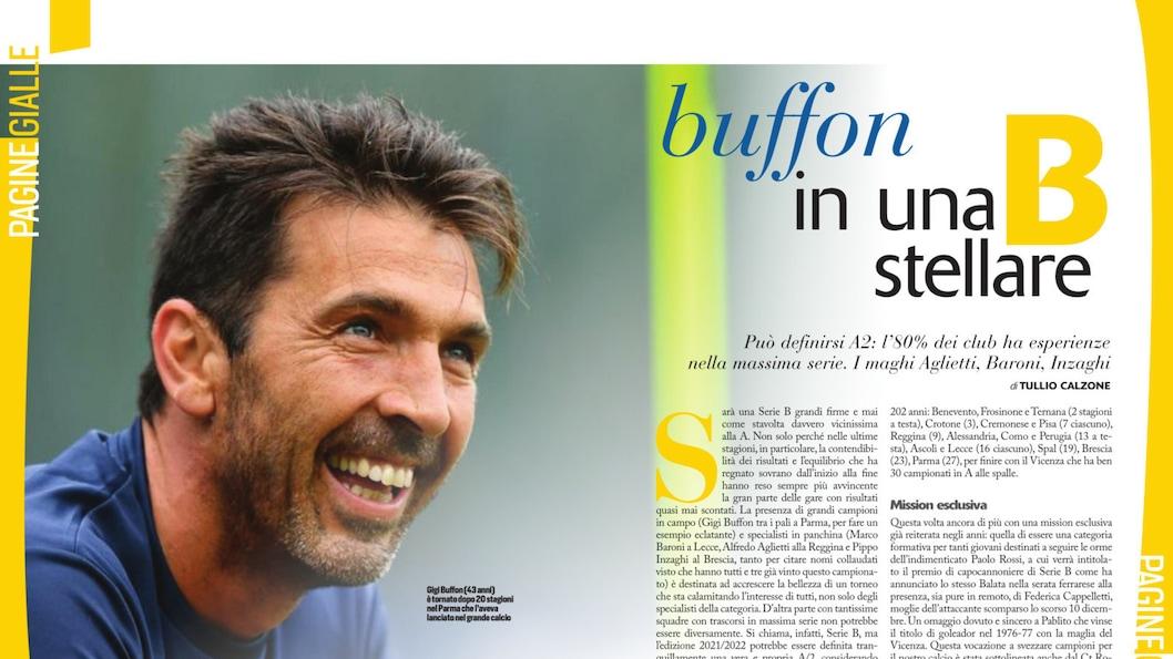 Buffon a Parma in una serie B stellare